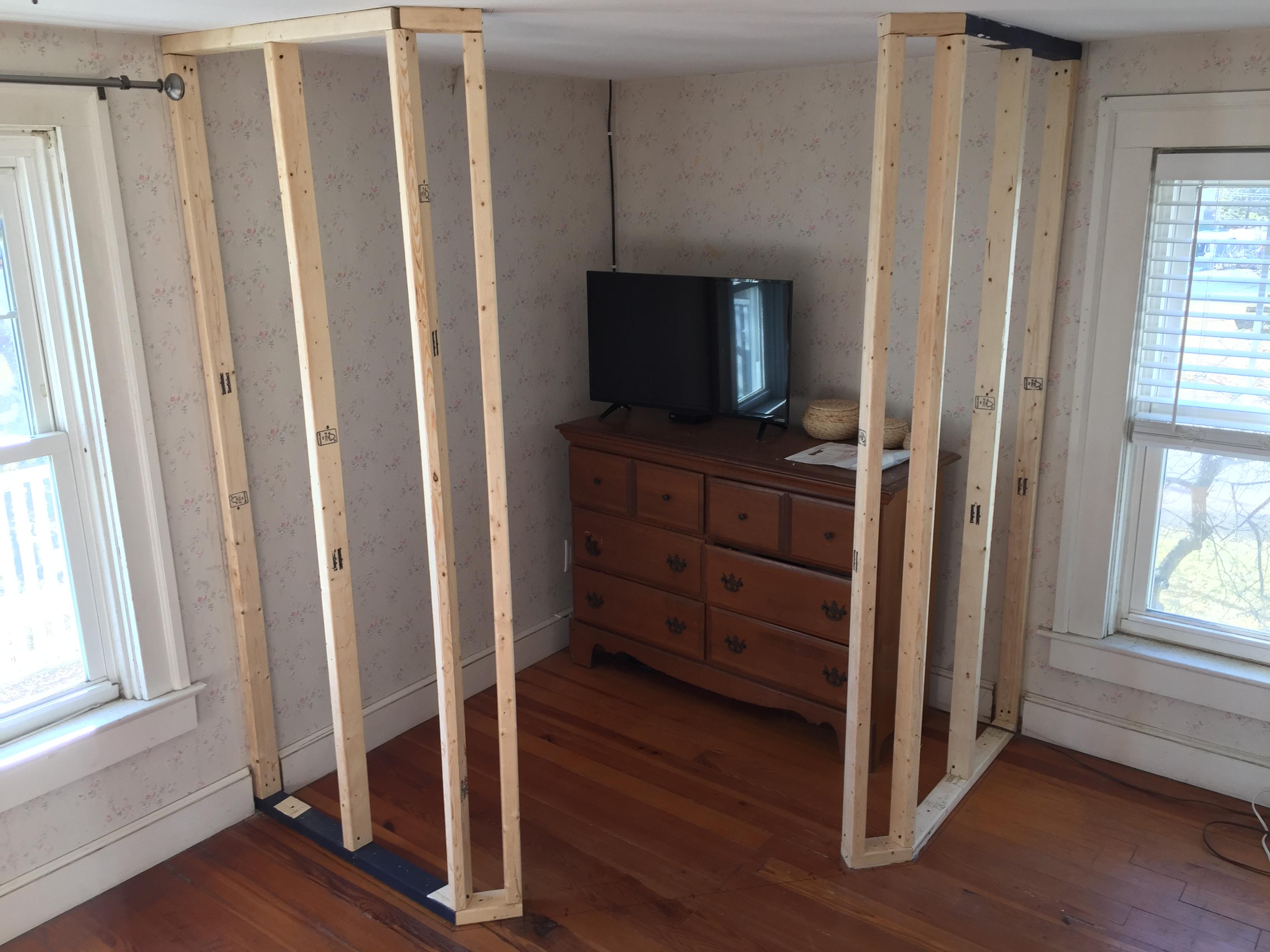 Bathroom Mega Project Part 1 A Corner Closet TJBenson